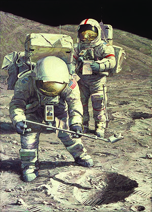 Alan Bean - Senator Schmitt Samples Subsurface Soil