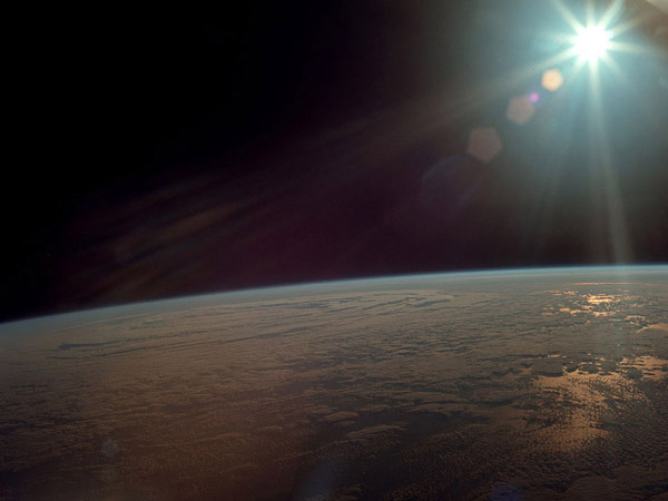 Apollo 11 The view from Earth orbit