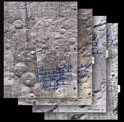 location moon map landing site apollo 12 - photo #40