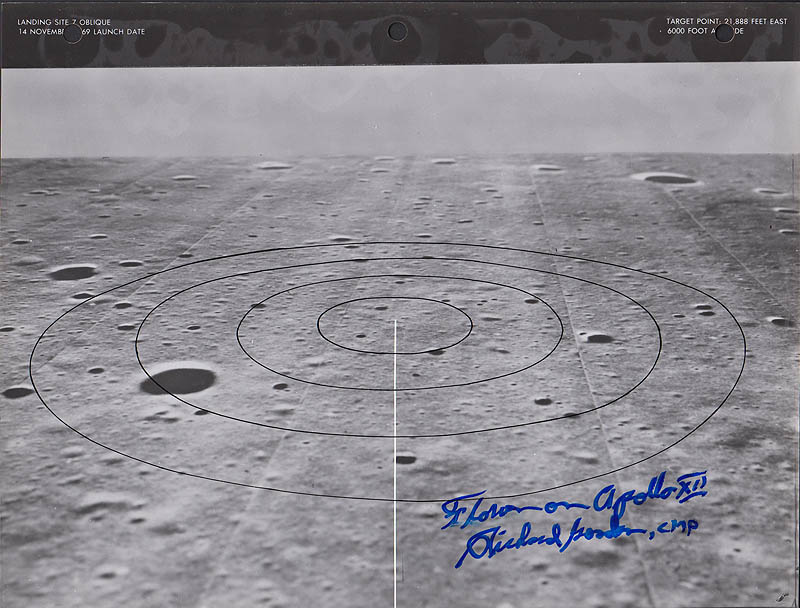 location moon map landing site apollo 12 - photo #42