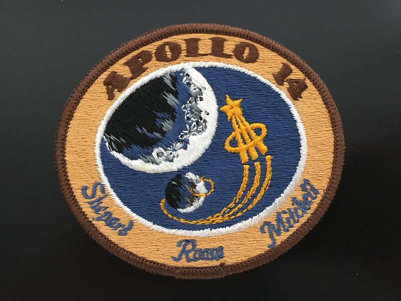 Apollo 14 Flown Embroidered Patch
