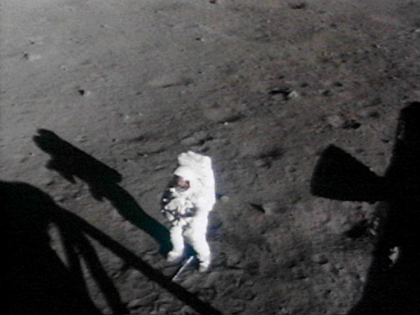 Neil Armstrong On the Moon Film