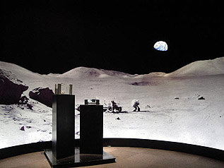 Apollo Lunar Panoramaic Backdrop