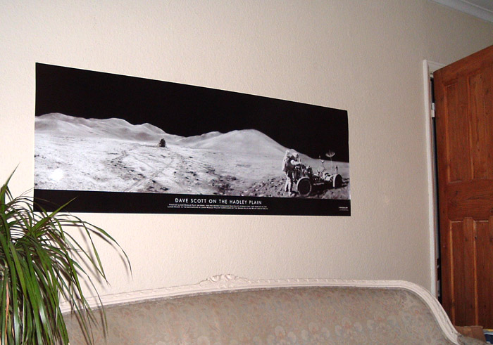 Space Posters - Giant Panoramic Apollo Posters
