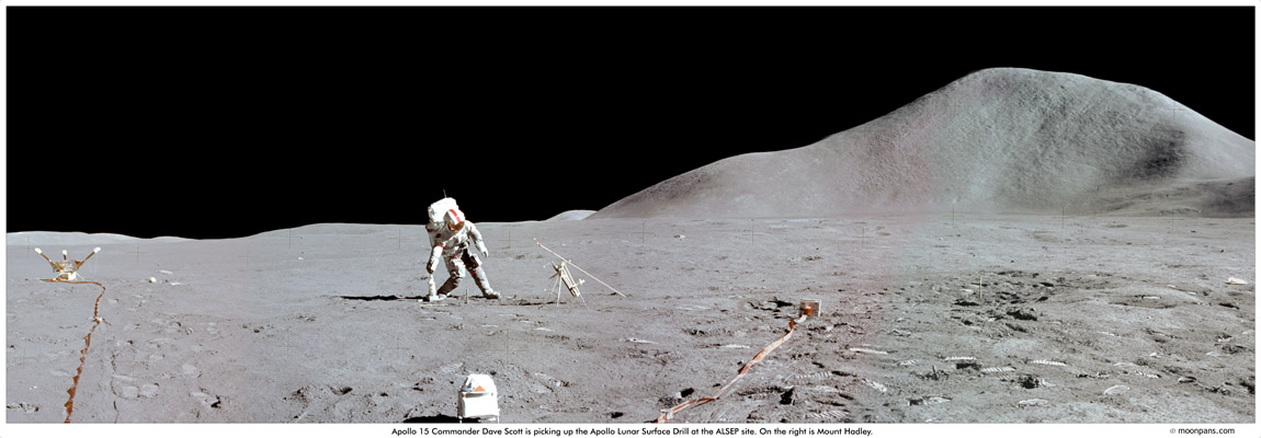 Apollo 15 Moon High Resolution - Pics about space